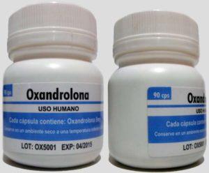 Oxandrolona-Comprimidos