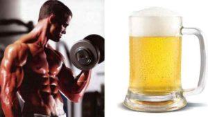 alcool e Musculaçao