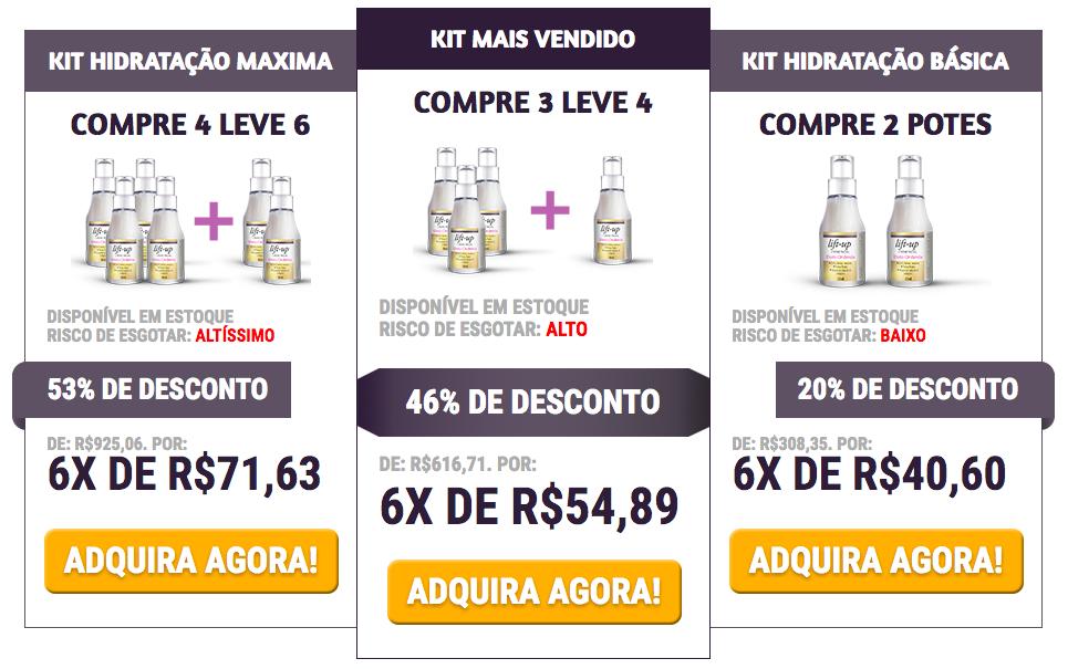 preço liftup