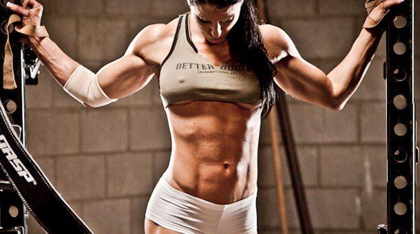 hipertrofia muscular feminina