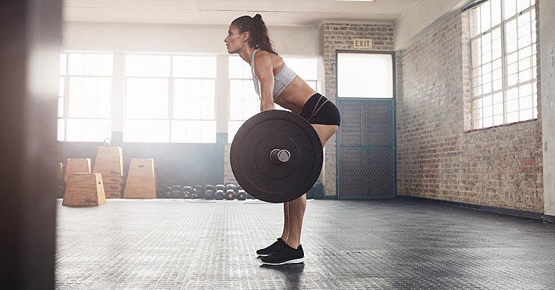 treinos para costas remada curvada
