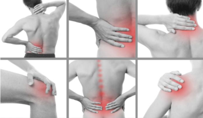 dores nas articulações e ossos