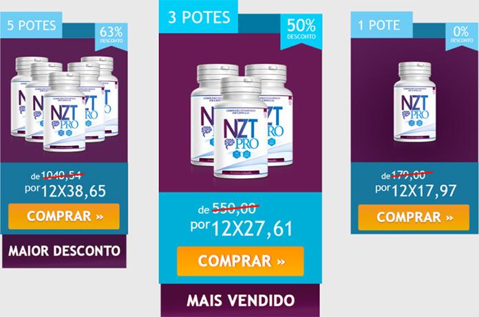 NZT Pro preço