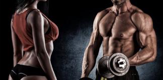 homem e mulher musculosos