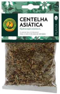 Centella Asiática folhas secas para chá