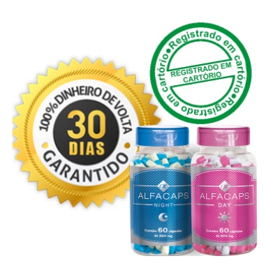 Alfacaps garantia de 30 dias