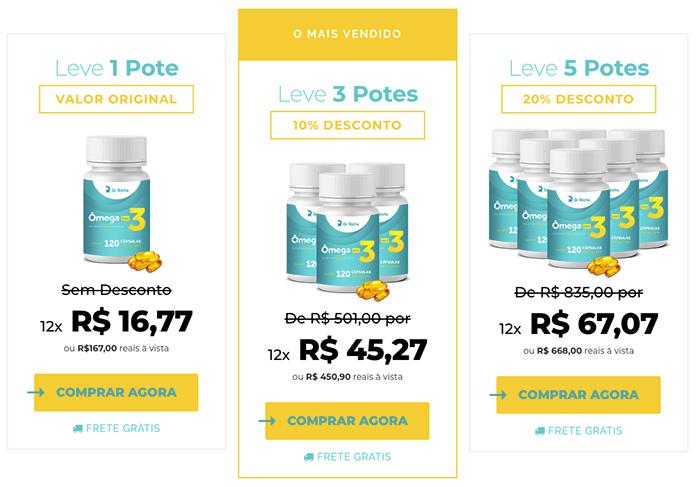 omega max 3 preço
