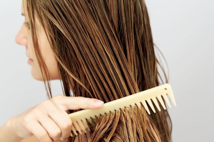 Óleo de coco para cabelo