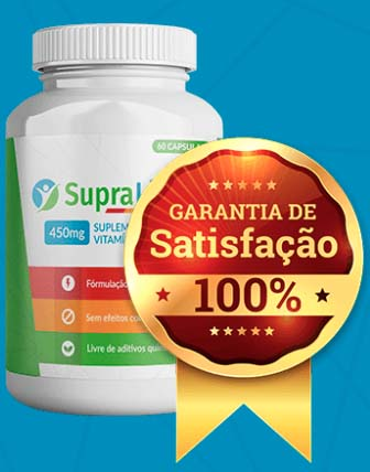 Garantia de satisfação do Supra Life X