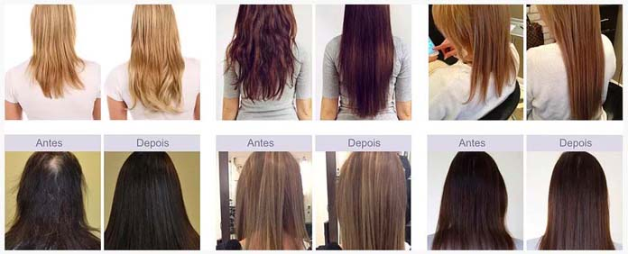 Nutry Hair antes e depois