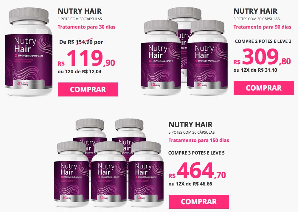 Nutry Hair preco