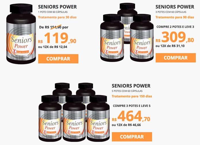 Seniors Power preco
