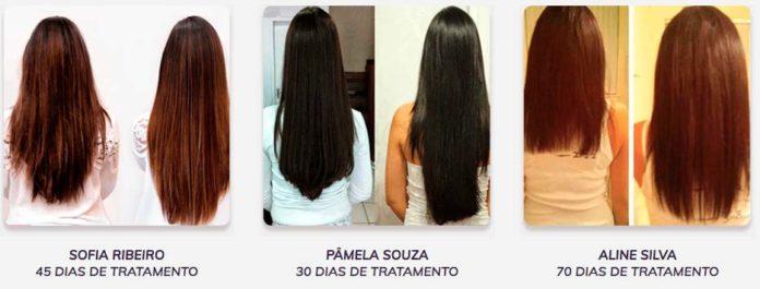 Capelli Hair antes e depois