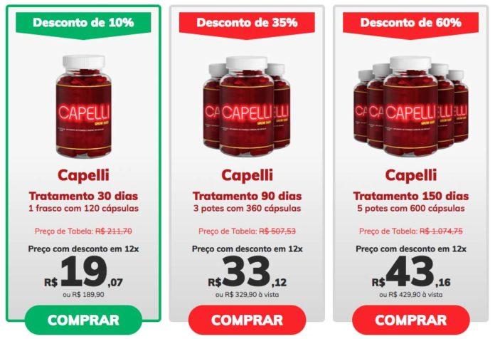 Capelli Hair preço