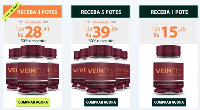 Preço de Veinfix