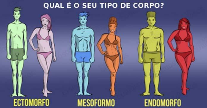 biotipo masculino e feminino