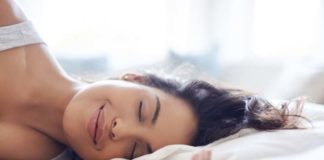 dormindo feliz