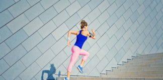 Exercícios na escada
