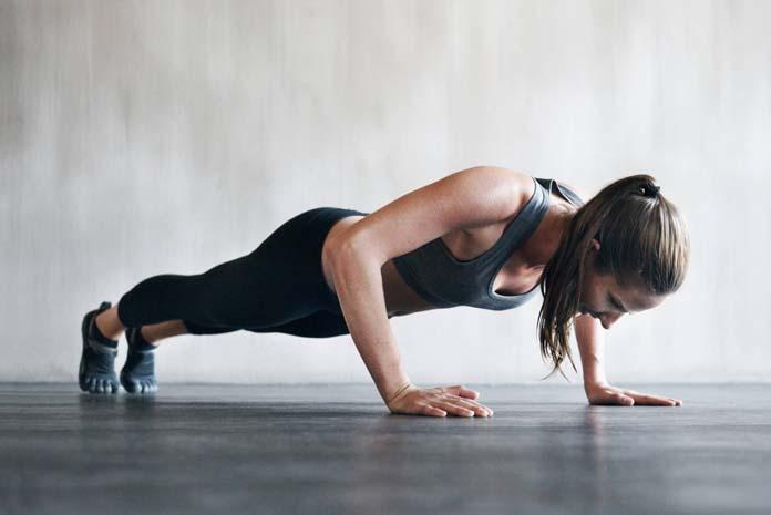 Flexão de braço tradicional